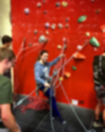Climb Clinic social coaching
