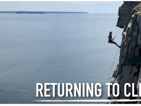 Returning to Climbing
