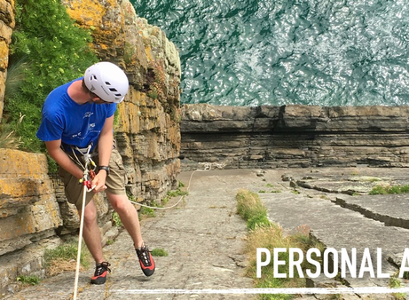 Technical Skills: Personal Abseiling
