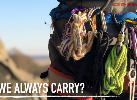 Instructor Top Tips: What do we Always Carry?