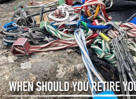 When to Retire your Climbing Gear