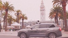 Uber AVs Back in SF