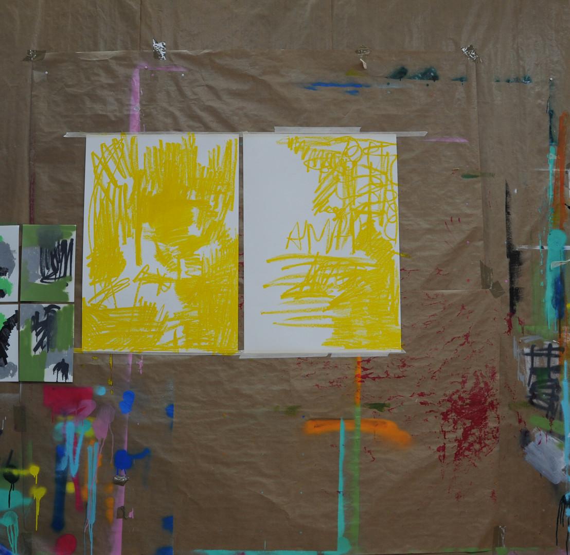 Amarillo I y II, Proceso 1.jpg