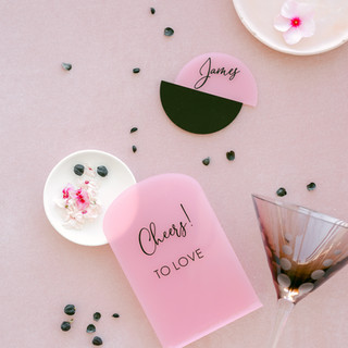 ILLUMINOGRAPHY - Personalised Perspex Name Tags