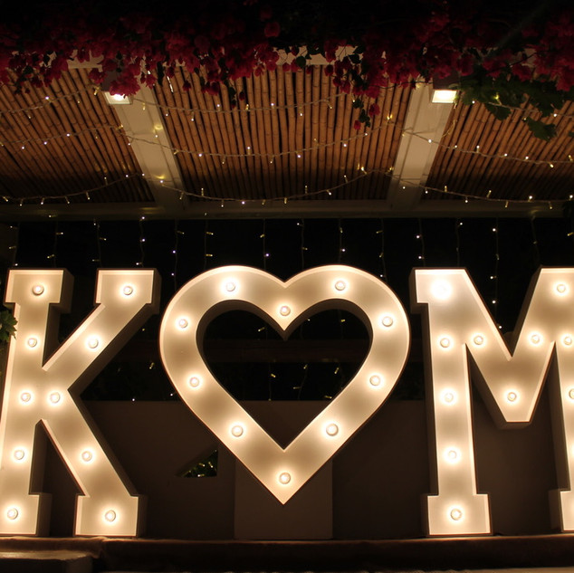 ILLUMINOGRAPHY - K [HEART] M