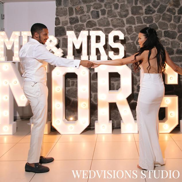 ILLUMINOGRAPHY - MR & MRS MORGAN