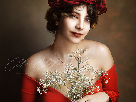 Séance Fine Art Portrait