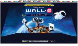 Disney's Wall•E Blu Ray stand header