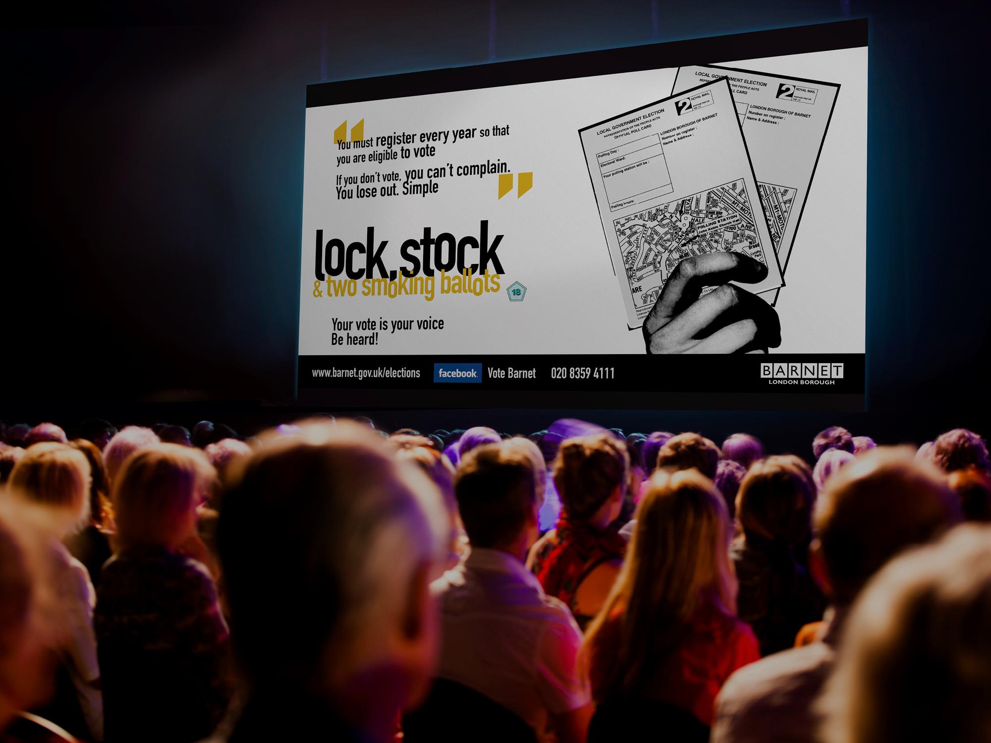 Cinema Ad - Lock, Stock