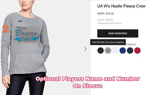 Breeze UA WOMENS Hustle Crew Neck Fleece
