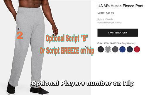 Breeze UA men's fleece pants