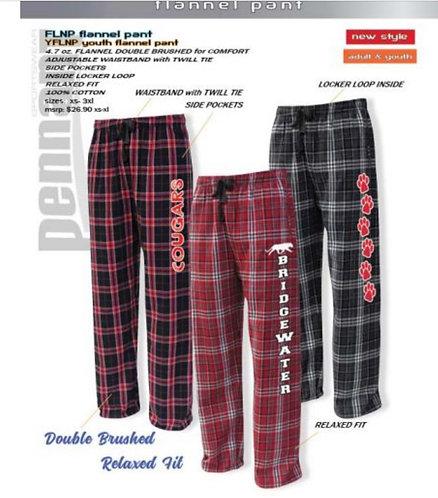 Swoop flannel pants
