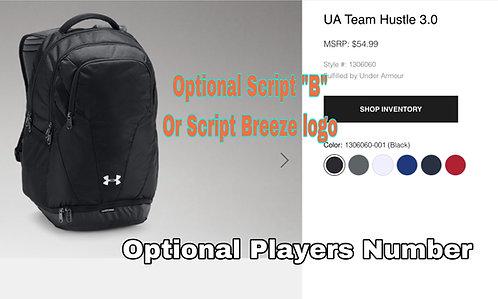 Breeze UA back pack