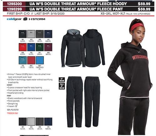 UA Womens Double Threat Hoody