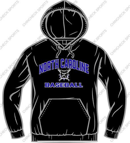 North Caroline Baseball Hoody