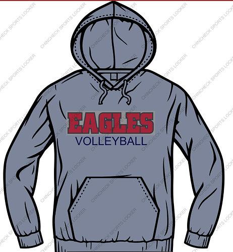 NDHS Volleyball Pennant 10oz Hoody