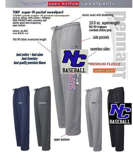 NC Baseball Pennant Sweat Pants