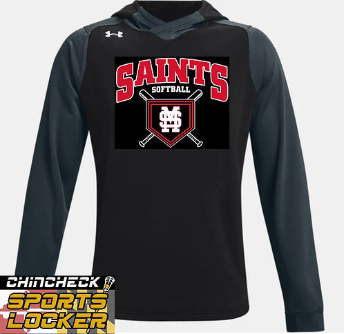 Saints Softball UA DYNASTY HOODY