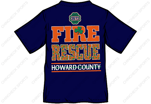 HCFR St Patrick's Day Tee S/S or L/S