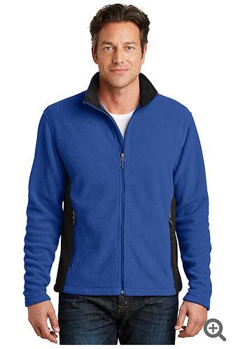 Port Authority coloblock fleece jacketb