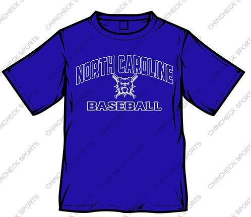 North Caroline Baseball Tee