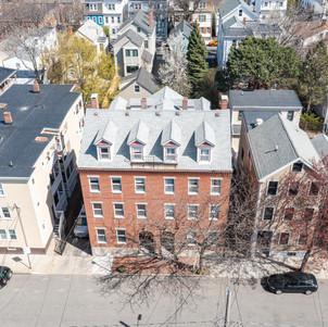 Spring Street drone photo