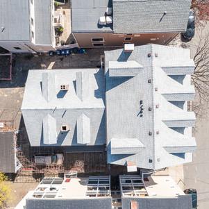 Spring Street aerial view