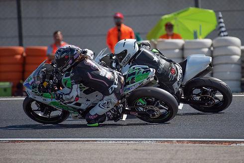 Course moto 125