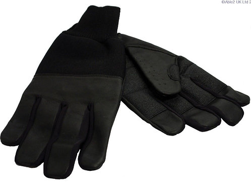 Revara Sports Leather Winter Glove Black - large