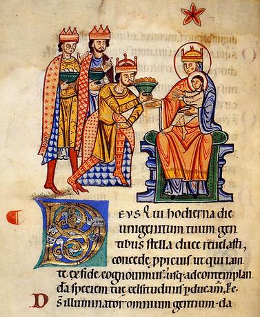 12e s. ms Ottobeuren Collectar, BL, Yate