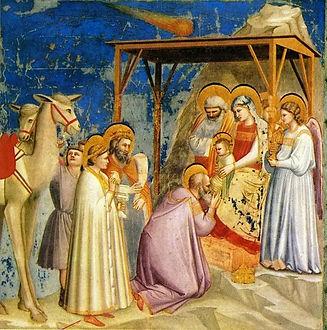 Giotto_-_Scrovegni_-_-18-_-_Adoration_of