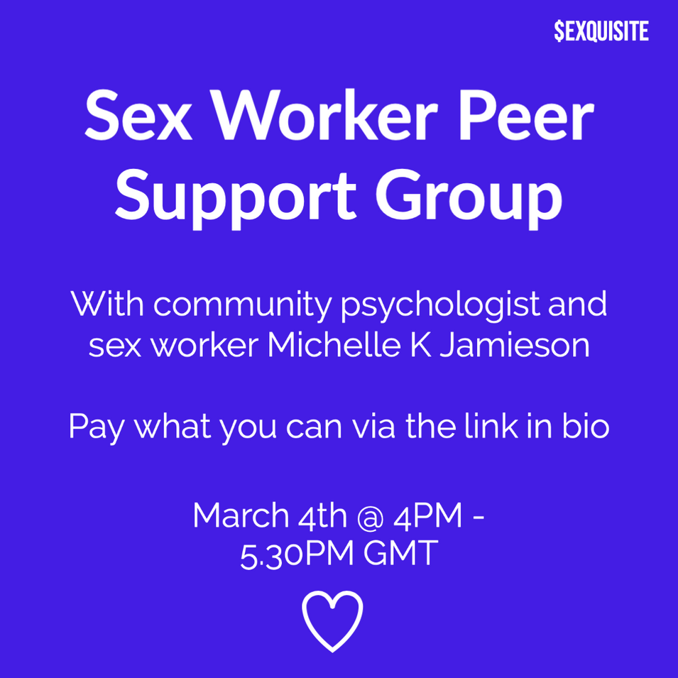 Sex Worker Peer Support Group