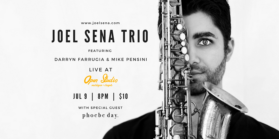 Joel Sena Trio with Phoebe Day