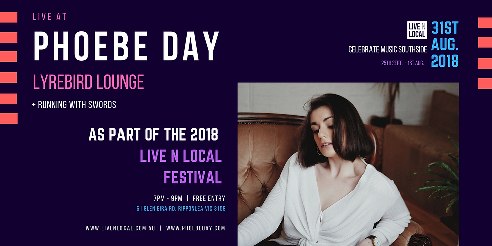 Phoebe Day at Live N Local Festival