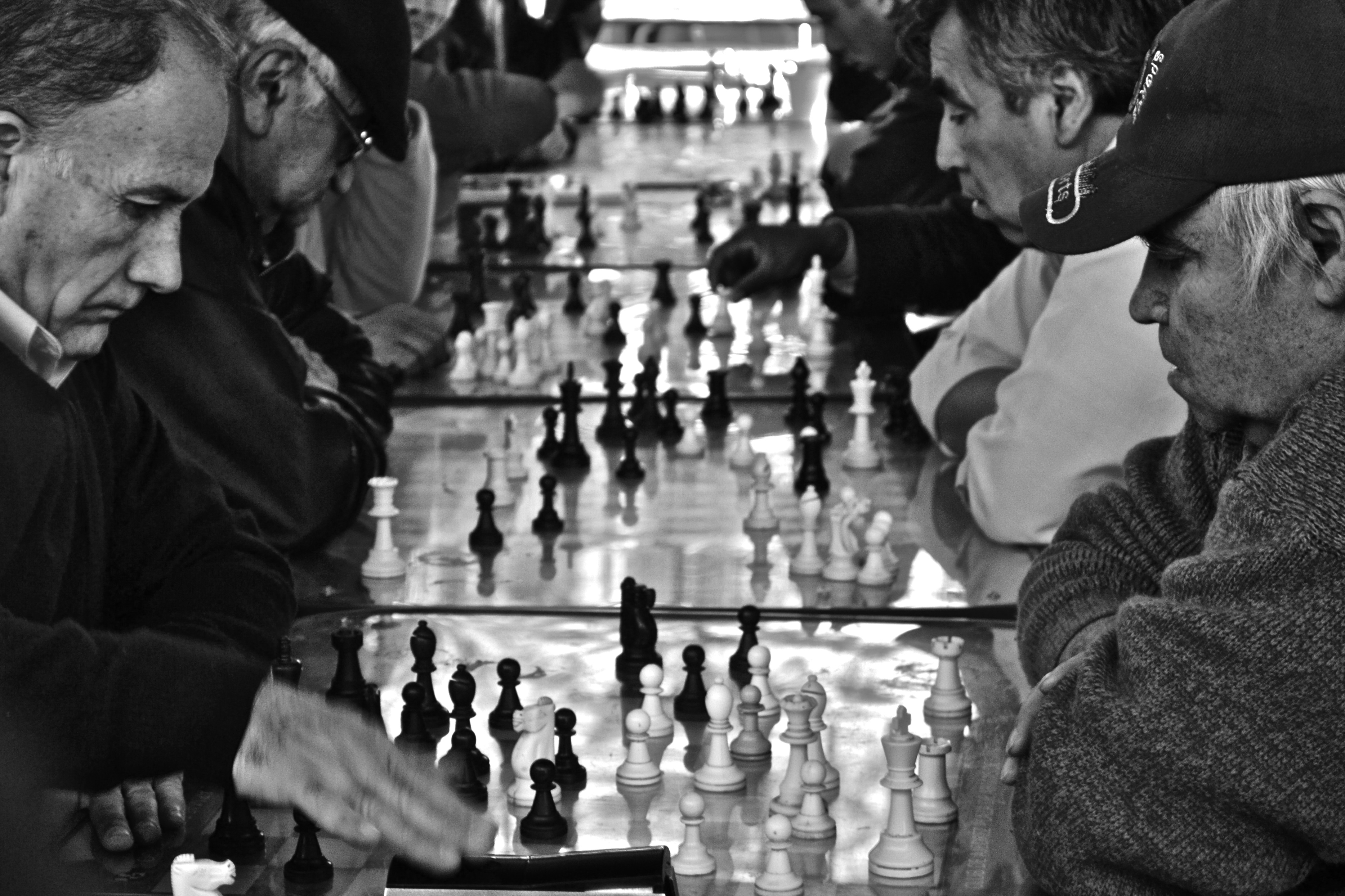 chess players, santiago