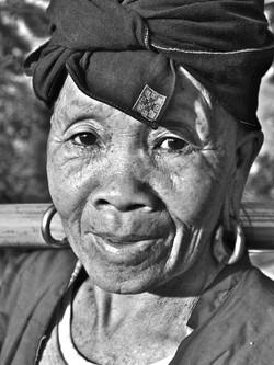 longji tribeswoman, south china