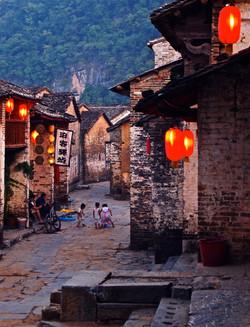 back streets, china