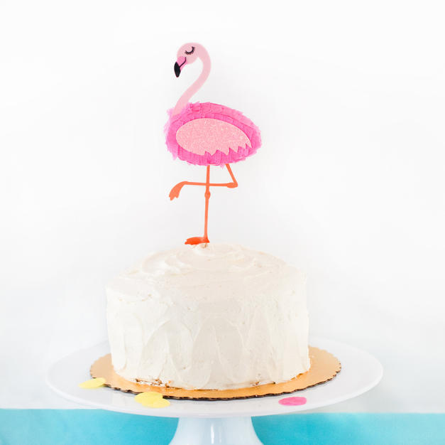 Flamingo topper
