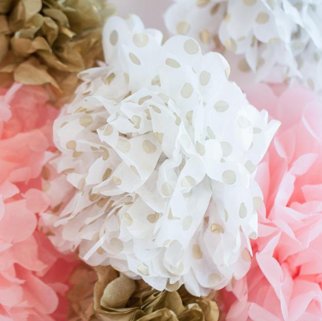 Paper Pompoms