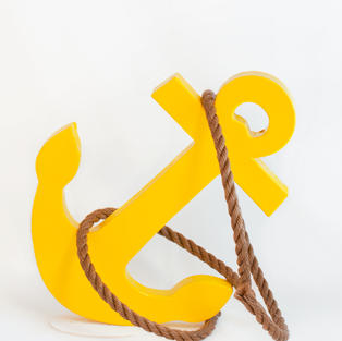 Paper mache anchor