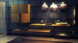 Cube Bathroom