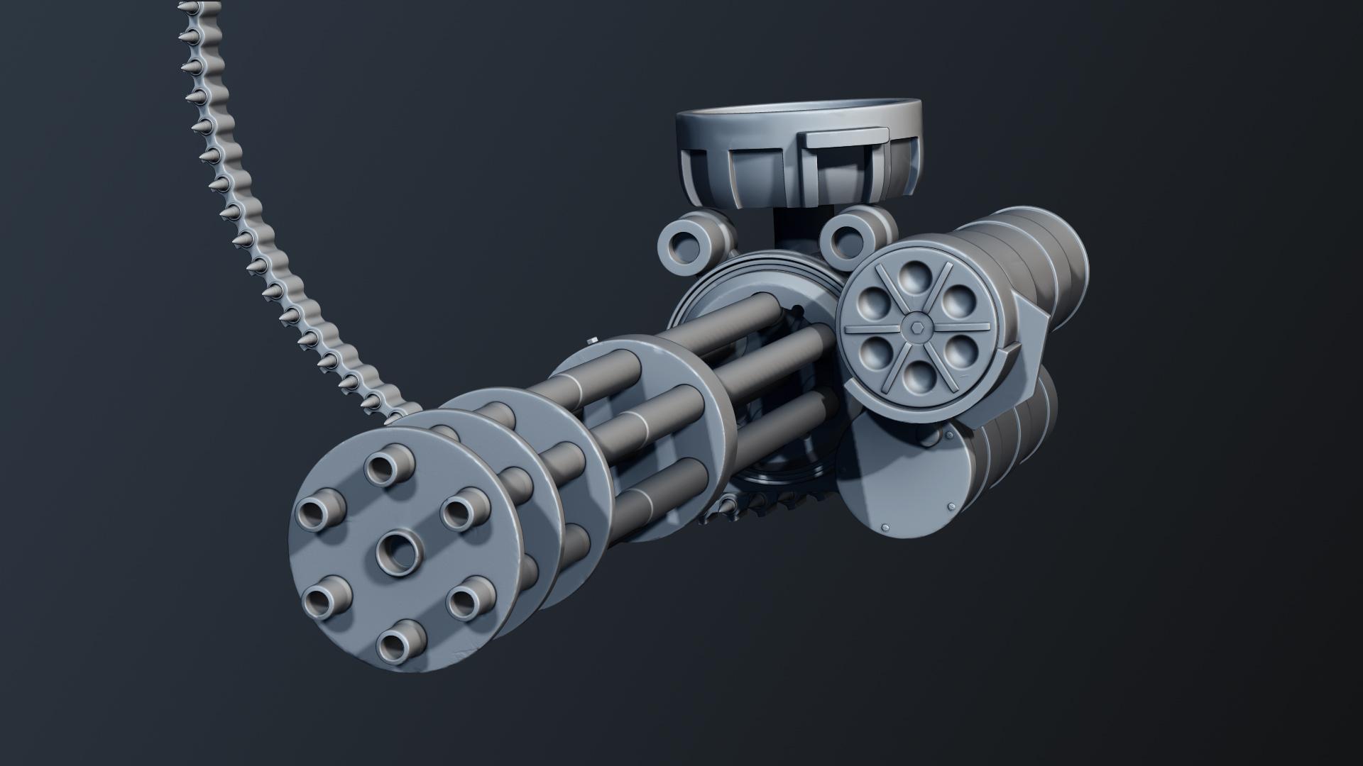 Valiant - Minigun
