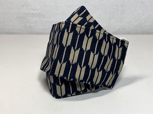 Blue Yagasuri 3D Mask