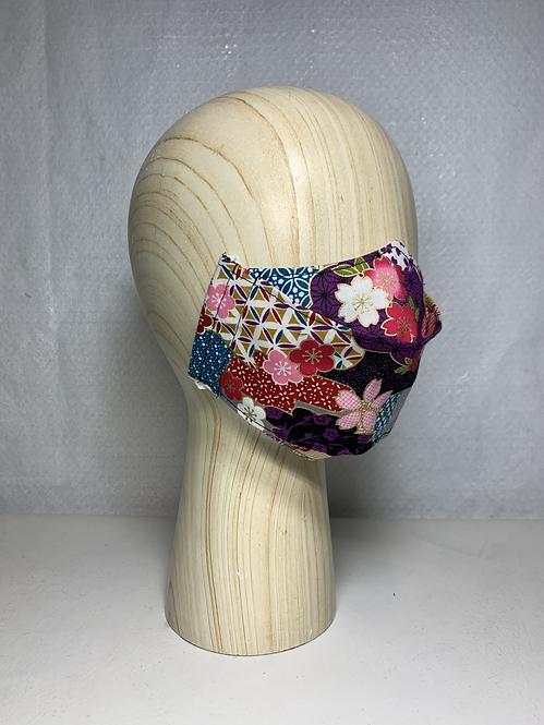 Spring Hana Purple 3D Mask