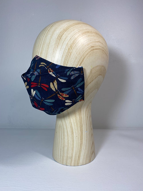 Tombo Navy Premium 3D Mask