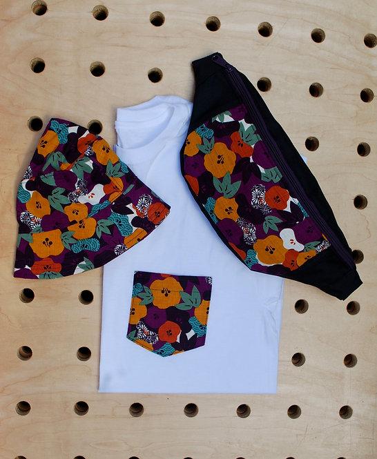Ume Purple Pocket T