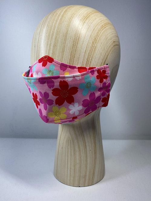 Japanese Flower 3D Masks