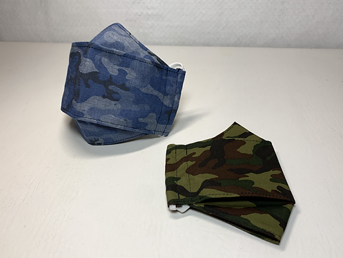 Camouflage 3D Mask