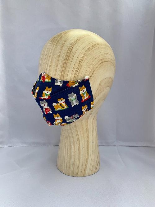 Shiba Luck 3D Mask