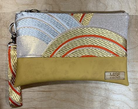 Gold/Orange Seigaiha OGOBI